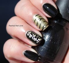 Animal Print nails by Rachos Nail Love