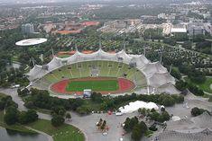 Munich Olympic Stadium Behnisch Frei Otto 1972 9