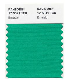 2013 Pantone's Color of the Year, is  Emerald , House of Turquoise blog