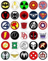 Superhero Logo List