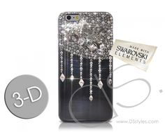 Drops Diamond Swarovski Crystal iPhone 6 Plus Case (5.5 inches) http://www.dsstyles.com/product/drops-diamond-swarovski-crystal-iphone-5-case