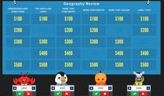 Create online engaging Jeopardy-style quiz games for the classroom in just minutes with Factile. Make your own or choose from existing games and join over 1 million users worldwide! It's free, easy and loads of fun. Now with Buzzer Mode! Teaching Spanish, Teaching Math, College Teaching, Quiz Games Online, Jeopardy Game Template, Philosophy For Children, Kinds Of Sentences, Grammar Review, School Librarian