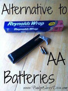 What to Do if You're Out of AA Batteries