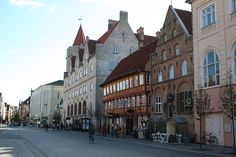 """Aalborg, Denmark -- the town my grandfather was from (and topic of my novel """"The Christmas to Remember"""")"""
