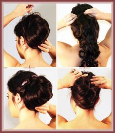 Awesome Wedding Hairstyles Step By Step And Hairstyle On Pinterest Short Hairstyles Gunalazisus