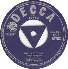 Decca 45-F 10762 Winifred Atwell The Left Bank (C'est a Hambourg)