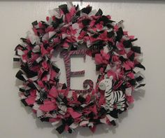 Bonnie's Crafty Corner: Zebra themed baby shower