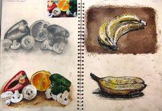 Y10 sketchbook page