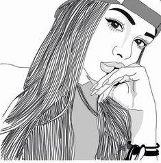Resultado de imagen para dibujos en blanco y negro de chico fumando