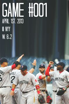 Opening Day,Boston Red Sox 8 - New York Yankees 2