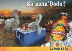 Ad 4 for Bourbon beer, from Réunion Islands