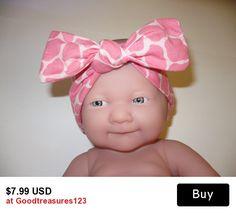 Buy 3 Get 1 Free  Mom Baby Sets Child Women Animal Print Headband Bow  Fabric Cloth Headscarf Headwraps   Goodtreasures1