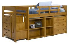 Twin Loft Bed with Storage