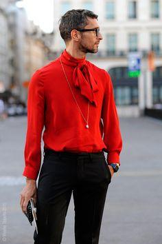 Ideas For Dress Red Haute Couture Paris Haute Couture Paris, Couture Mode, Couture Fashion, Fashion Moda, Mens Fashion, Pop Punk Fashion, Runway Fashion, Fashion Trends, Paris Outfits