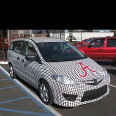 I already drive a Mazda 5 - how do I get this scheme?  Roll Tide!!!!