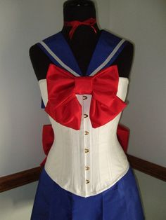 Sailor Moon Silk Corset costume - corsetwonderland,