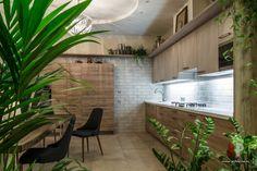 Фото интерьера кухни квартиры в стиле фьюжн