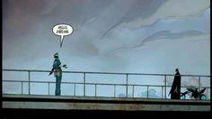 Batman and joker meeting by Greg Capullo