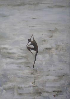 Danza II - óleo s/lienzo 70 x 50