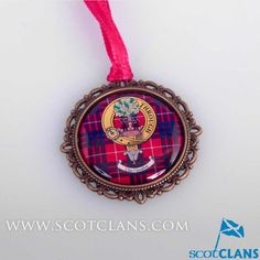 Hamilton Clan Crest Small Ornament