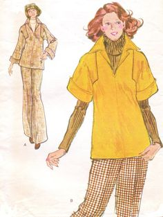 1970s Very Easy Vogue Sewing Pattern 8716 Womens by CloesCloset, $10.00