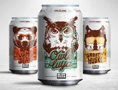 Owle luya #packaging by StudioMax Design #beer #cerveza