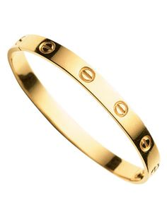 Amanda Brooks' Wish List - Cartier Love bangle