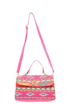 Lola Aztec Satchel Bag