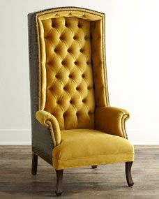 This is why I'm not rich...God knows I would fill my home with things like this. --> Nob Hill Chair