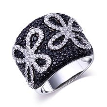 Big Engagement Ring Setting 230pcs CZ Crystal Classic Black & White Ring For Women Platinum Plated Flower design Free Shipping,   Engagement Rings,  US $21.36,   http://diamond.fashiongarments.biz/products/big-engagement-ring-setting-230pcs-cz-crystal-classic-black-white-ring-for-women-platinum-plated-flower-design-free-shipping/,  US $21.36, US $15.17  #Engagementring  http://diamond.fashiongarments.biz/  #weddingband #weddingjewelry #weddingring #diamondengagementring #925SterlingSilver…