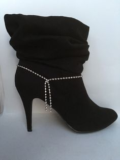 Rhinestone Boot Bracelet Boot Jewelry Boot Bling Boot