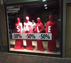 """SHOEBY, Holland,""""Staff not reaching there sales targets?"""", pinned by Ton van der Veer Visual Merchandising, Pop Design, Graphic Design, Retail Signage, Mannequin Art, Store Window Displays, Text On Photo, Photo Search, Sale Banner"""