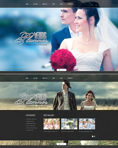 Wedding Planner Website Template http://www.templatemonster.com/website-templates/42533.html?utm_source=pinterest&utm_medium=timeline&utm_campaign=wedd