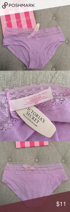 Victoria's Secret Underwear Panties Brand new with tag. Size small, bag not included. Victoria Secret Panties Underwear. Low rise Hiphugger Culotte Classique. Bundle to save! Victoria's Secret Intimates & Sleepwear Panties