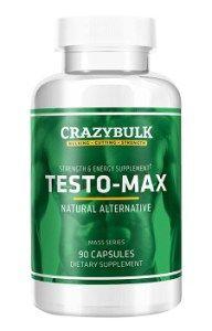 Crazy Bulk Testosterone Booster - Testo Max