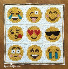 Kijk wat ik gevonden heb op Freubelweb.nl https://www.freubelweb.nl/freubel-zelf/zelf-maken-met-haakgaren-emoji-deken/