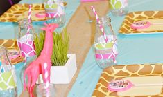 Real Party - I Love Giraffes - Party Pieces Blog & Inspiration