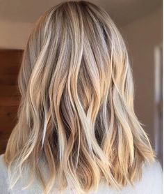 sea shell blonde babylights