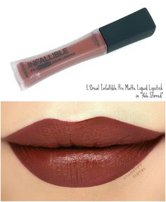 """L'Oreal Infallible Pro Matte Liquid Lipsticks in """"366 Stirred"""": Review and Swatches"""
