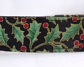 Christmas Dog Collar - Dog, Martingale or Cat Collar - All Sizes - Holiday Serenade