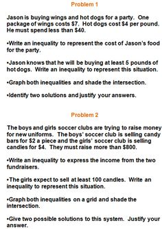 Worksheets Systems Of Inequalities Word Problems Worksheet two step inequalities worksheets school stuff pinterest inequality word problems