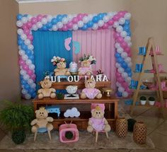 Gender Reveal Party Decorations, Baby Gender Reveal Party, Living Room Decor Cozy, Reveal Parties, Mochi, Baby Shower Games, Boy Or Girl, Backdrops, Balloons