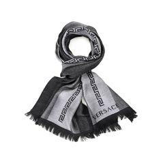 Versace Scarf, Scarfs, Scarf Wrap, Middle, Menswear, Stripes, Luxury, Accessories, Fashion