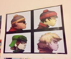 South Park x Gorillaz