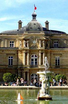 fotografiasdevevanogueira: Palácio do Luxemburgo Paris, França (by Veva Nogueira)
