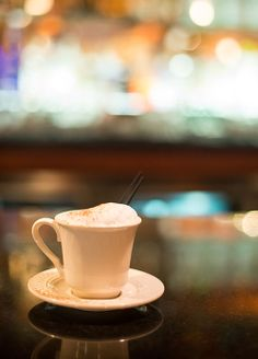 Nothing says Italian like our Italian cappuccino. Great after dinner!