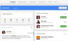 When you click on an hashtag on Google Plus you find all items and people related to the hashtag! Try it out!