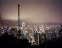 Chinese Urban Night Photographs by Mike Horn