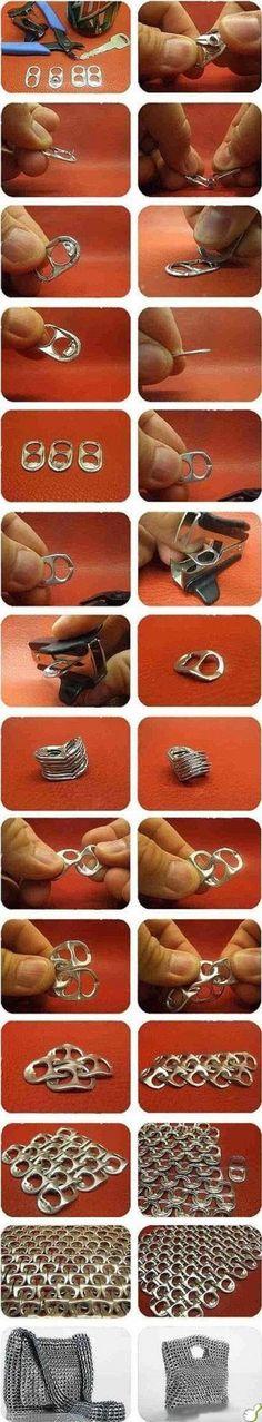Surprise DIY armadura de destapa latas