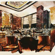 Shanghai Art Deco style #handrendering